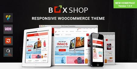پوسته فروشگاهی BoxShop ووکامرس نسخه ۱٫۰٫۴