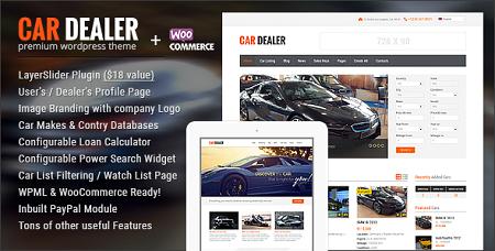 پوسته آگهی خودرو Car Dealer وردپرس نسخه ۱٫۴٫۲