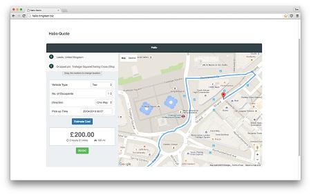 افزونه Halio ایجاد سیستم رزرو آنلاین تاکسی در ووکامرس