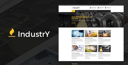 پوسته شرکتی و کارخانجات Industry وردپرس نسخه 3.0