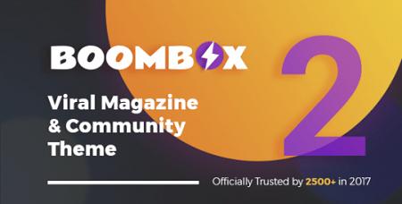 پوسته چندمنظوره و مجله خبری BoomBox وردپرس