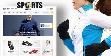 پوسته فروشگاهی Sport Shop ووکامرس نسخه 1.6