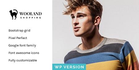 پوسته فروشگاهی Wooland ووکامرس نسخه ۱٫۲