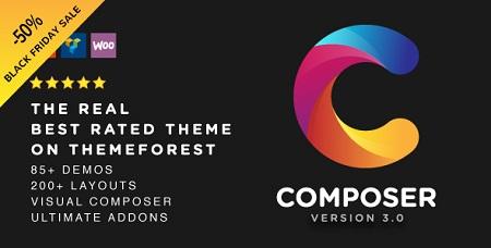 پوسته چند منظوره Composer وردپرس نسخه ۳٫۱٫۳