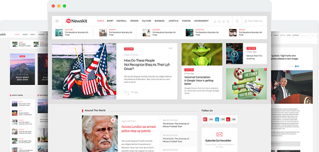 قالب مجله خبری NewsKit جوملا نسخه ۱٫۵