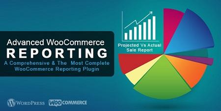 افزونه گزارش گیری Advanced WooCommerce Reporting ووکامرس نسخه 4.3