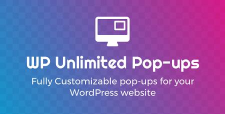 افزونه پاپ آپ وردپرس unlimited pop ups