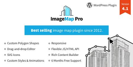 افزونه ایجاد نقشه تصویر Image Map Pro وردپرس نسخه ۴٫۴٫۵