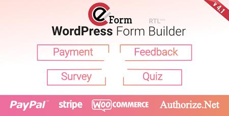 افزونه فرم ساز eForm وردپرس نسخه ۴٫۱٫۳