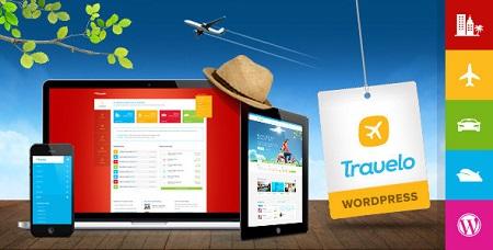 پوسته آژانس مسافرتی و گردشگری Travelo وردپرس