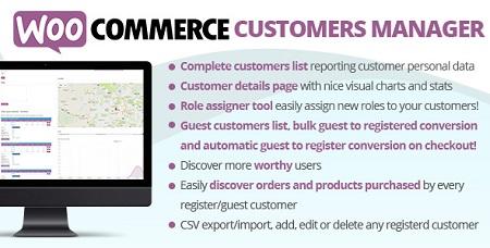 افزونه WooCommerce Customers Manager مدیریت مشتریان ووکامرس نسخه 25.1