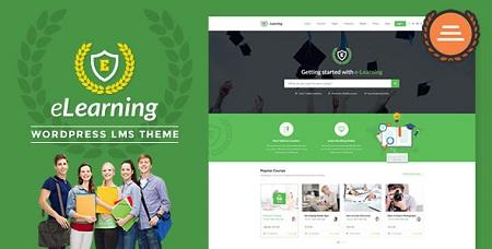 پوسته eLearning ایجاد سایت آموزشگاه آنلاین در وردپرس