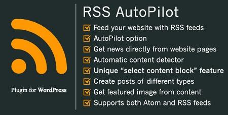 افزونه خبرخوان RSS AutoPilot وردپرس نسخه 1.5.0
