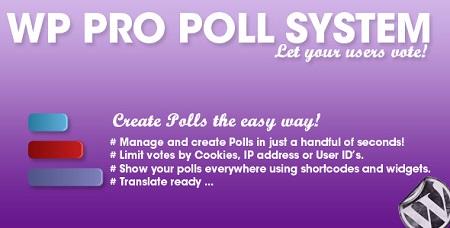 افزونه WP Pro Poll System ایجاد نظرسنجی در وردپرس نسخه 1.0.5