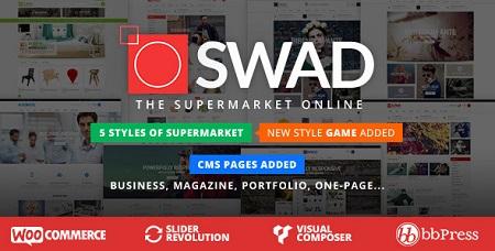 پوسته فروشگاهی و چندمنظوره Oswad ووکامرس نسخه 3.0.1