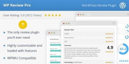 افزونه WP Review Pro ستاره دار کردن مطالب در گوگل نسخه 3.3.16