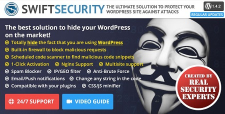 افزونه امنیتی Swift Security Bundle وردپرس نسخه 1.4.2.17