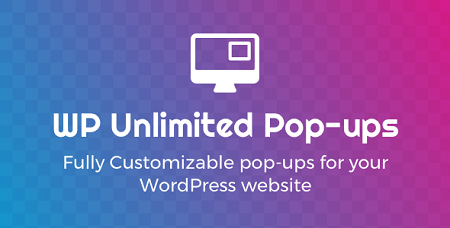 افزونه Unlimited Pop-ups ایجاد پاپ آپ در وردپرس نسخه 1.4.7
